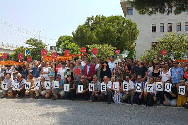 Akademisyen Tuna Altınel'e ilk duruşmada tahliye