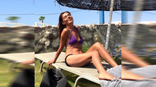 Yıldız Tilbe'den bikinili yaz pozu