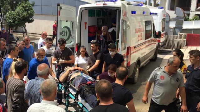 Madende göçük: 1 ölü 2 yaralı !