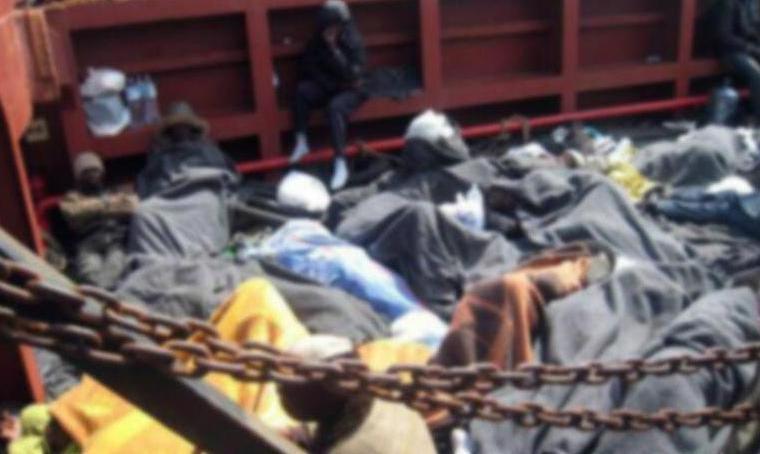 Göçmen teknesinde korkunç son: 15 kişi öldü !