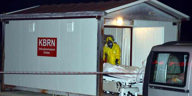 Hastanede alarm ! Herkese maske dağıtıldı