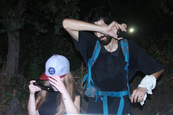 Mağarada mahsur kalan üniversiteliler kurtarıldı