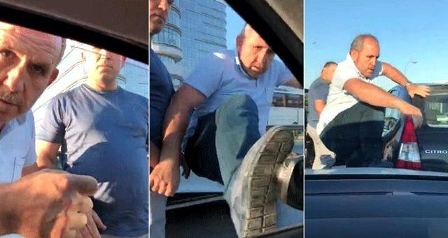 Trafikte saldırıya uğrayan mağdur çift konuştu