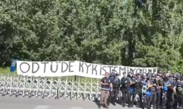 Ankara Barosu'ndan ODTÜ'deki öğrencilere destek