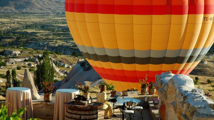 Kapadokya'ya gelen turist sayısında artış