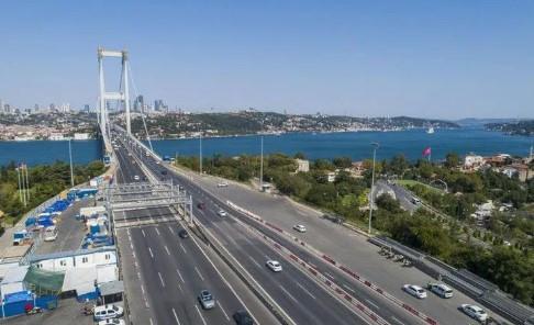 İstanbul'da şaşırtan görüntü ! Bu sabah çekildi...