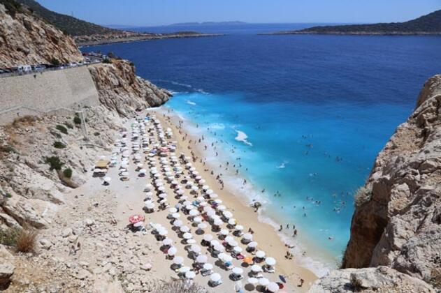 Türkiye'nin turkuaz cennetini 4 günde 2 bin kişi ziyaret etti !