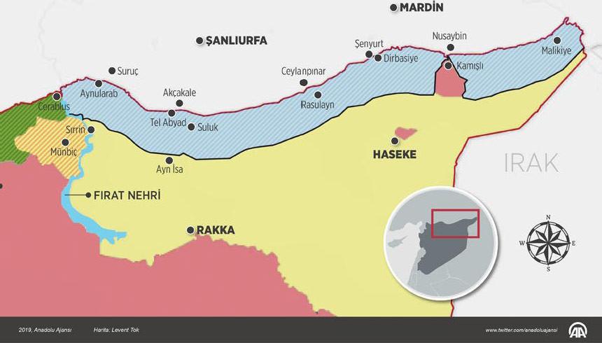 Türkiye Suriye'ye 10 üs kuracak
