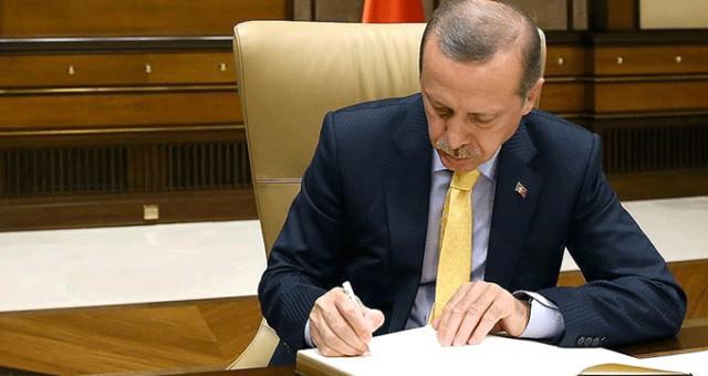 Erdoğan o ismi görevden aldı ! Atama kararları Resmi Gazete'de