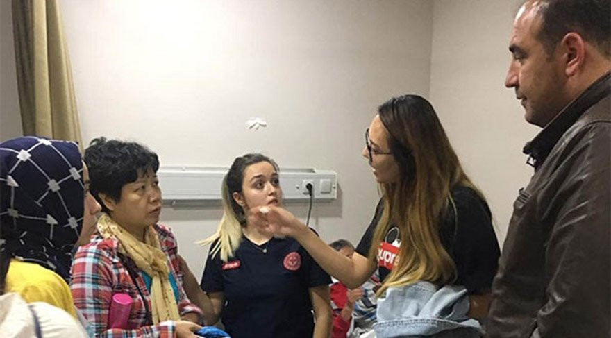 Kapadokya'da 90 turist hastanelik oldu