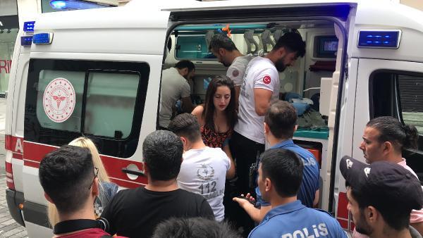 Taksim'de can pazarı ! Motosikletiyle dehşet saçtı