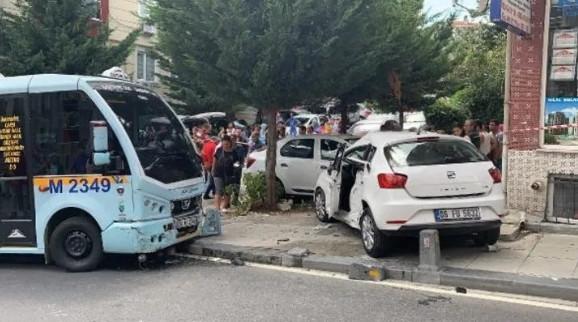 İstanbul'da korkunç kaza ! Yaralılar var