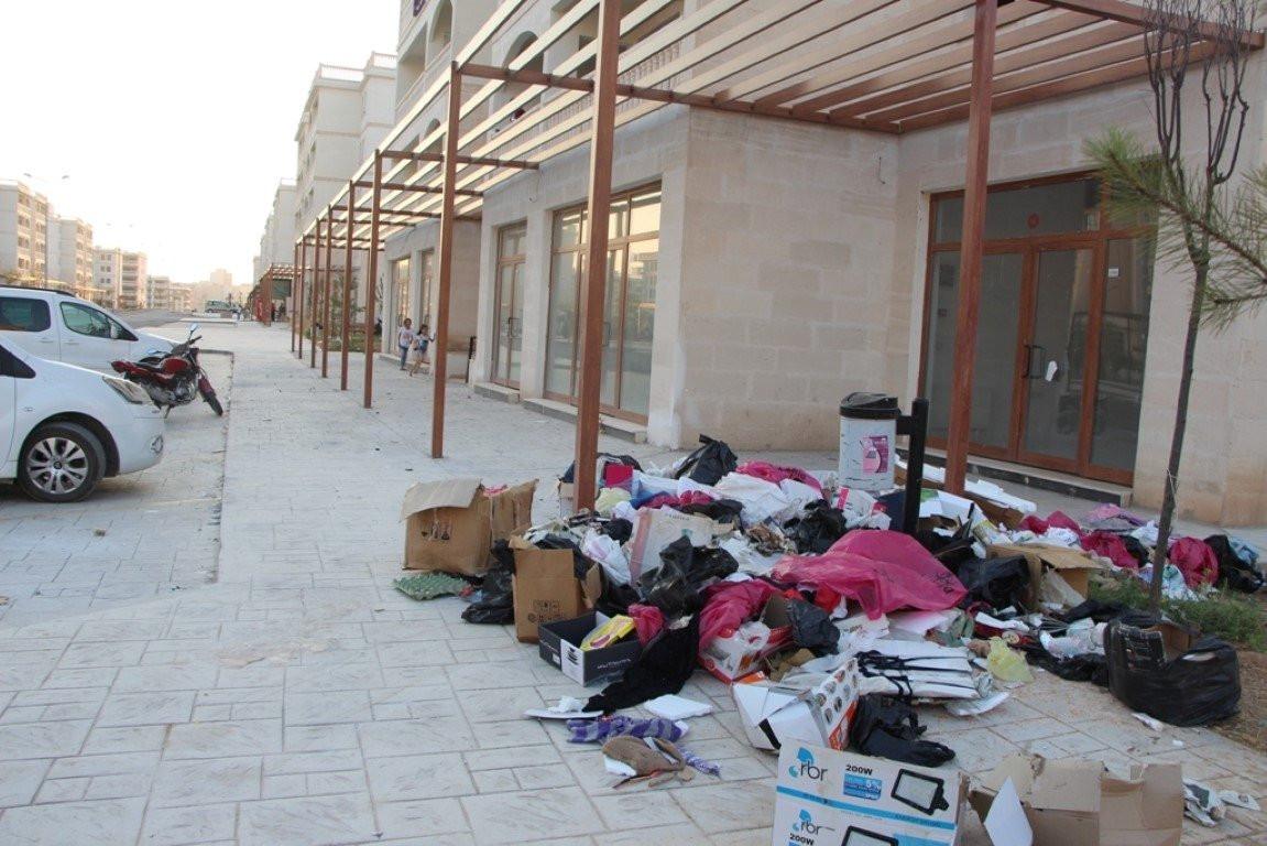 HDP'li Nusaybin belediyesinde çöp isyanı