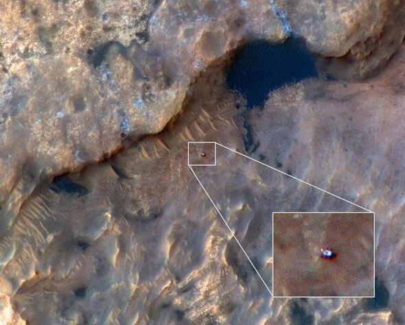 NASA kan donduran görüntüleri yayınladı