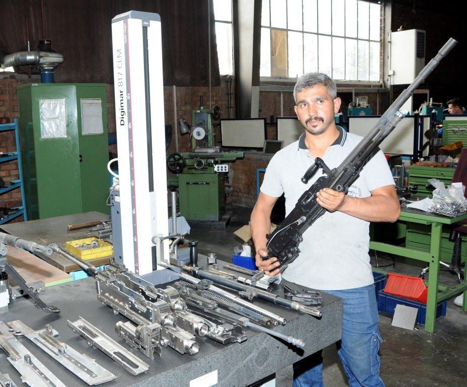 Yerli yeni makineli tüfek testlerden başarıyla geçti!