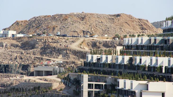 Bodrum'un ''beton ormanları''nda yıkımlar başladı