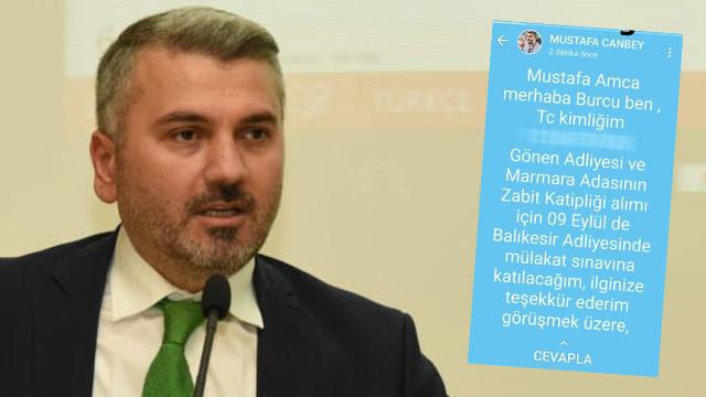 AK Partili milletvekili yanlışlıkla ''torpil'' mesajını paylaştı