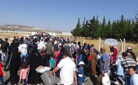 Kurban Bayramı için 33 bin Suriyeli ülkesine döndü