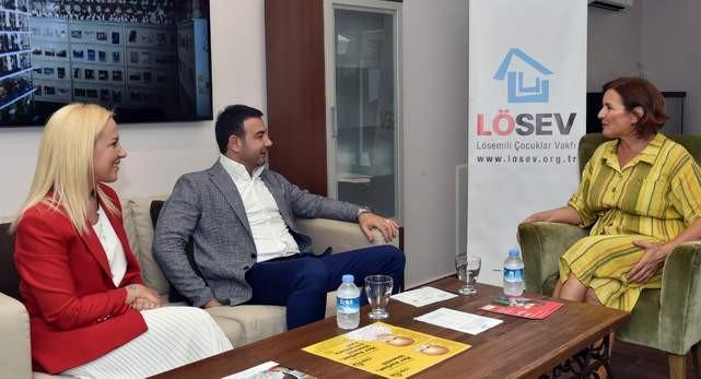 Beşiktaş Belediye Başkanı Akpolat'tan LÖSEV'e destek çağrısı