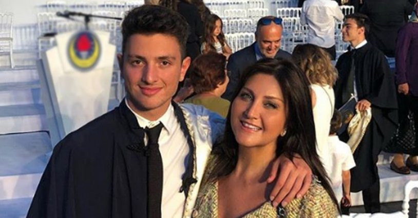Sibel Can'ın oğlu Emir sevgilisiyle görüntülendi