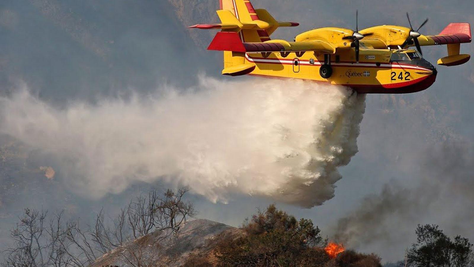 Tarım Bakanı yangın uçakları için Rusya'da