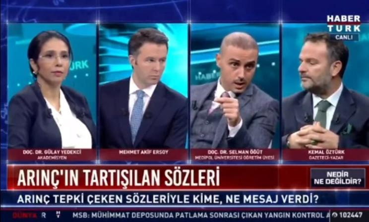 AK Partili isimler canlı yayında birbirine girdi