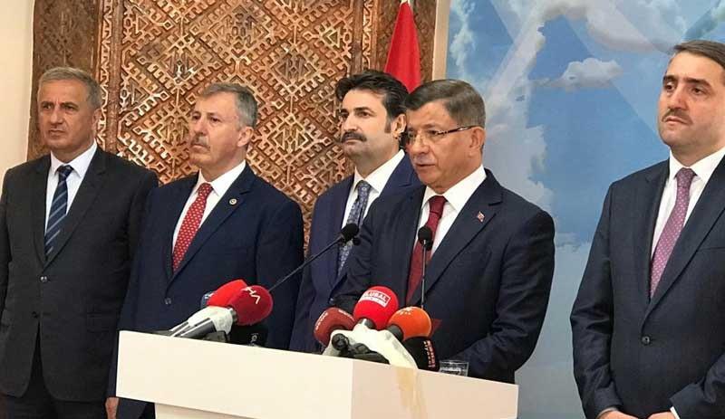 AK Parti'den istifa eden Davutoğlu'ndan dikkat çeken çıkış
