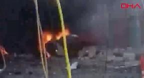 Afrin'de patlama: 2 ölü, 7 yaralı