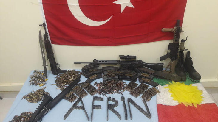 MİT ve Emniyet'ten Afrin'de terör operasyonu