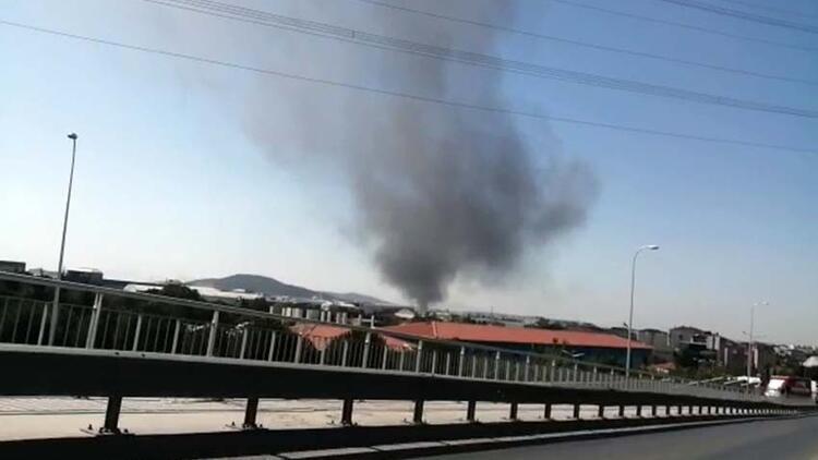 İstanbul'daki fabrika yangınında büyük patlama: Yaralılar var!