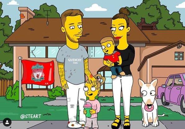 Fenerbahçe'nin yeni yıldızı Simpsons karakterine dönüştü