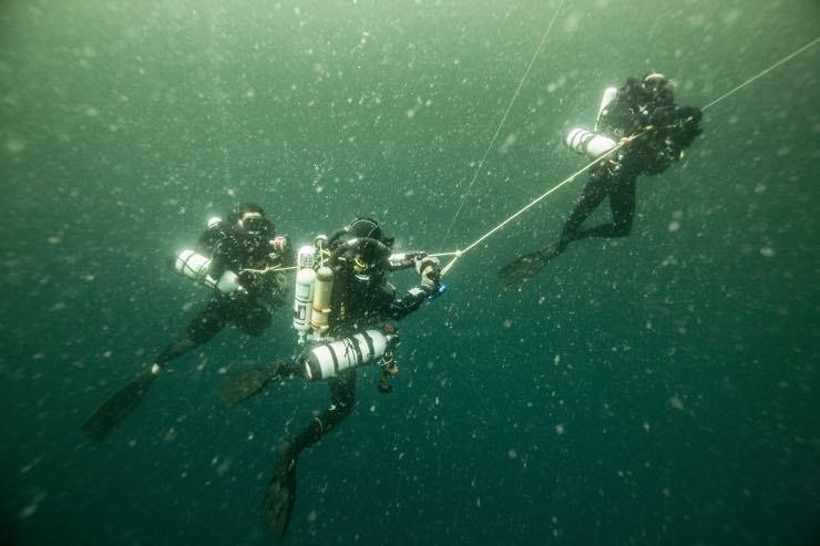Fotoğraflarla Amazon Resifi'ne ilk insan dalışı