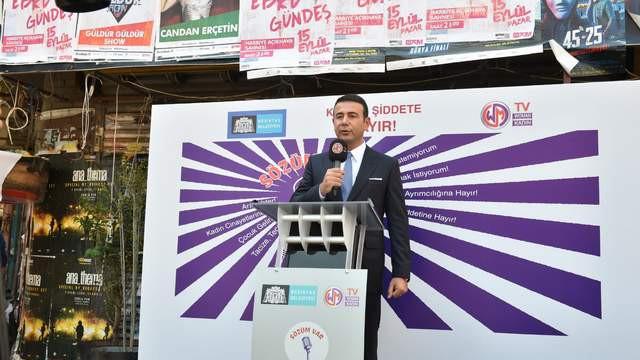 Beşiktaş'ta 'sözüm var' projesi Başkan Akpolat'ın çağrısıyla başladı