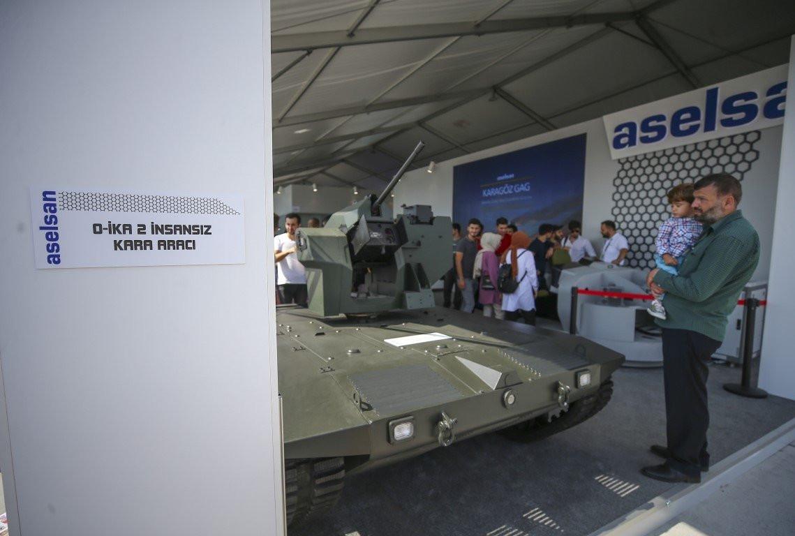 İnsansız tank TEKNOFEST'te