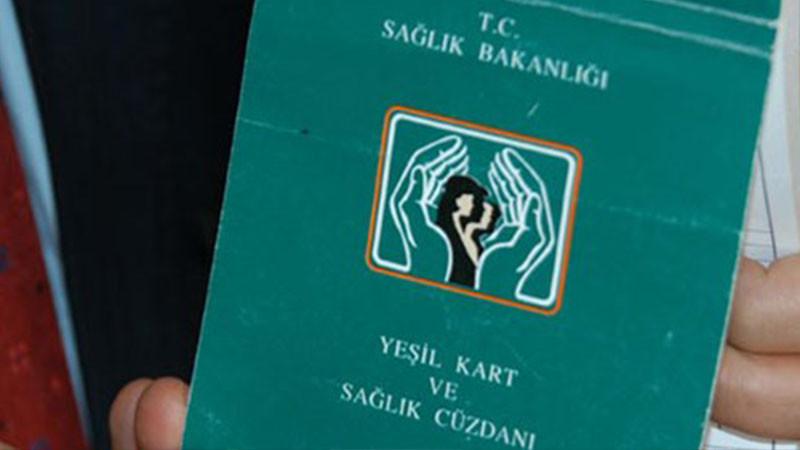 Yeşil Kart'lı vatandaş sayısı 8,6 milyona bine ulaştı