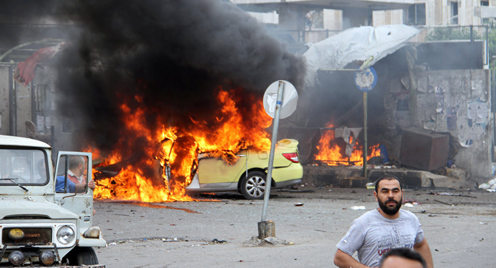 Afrin'de bomba yüklü araçla saldırı: 4 ölü, 10 yaralı