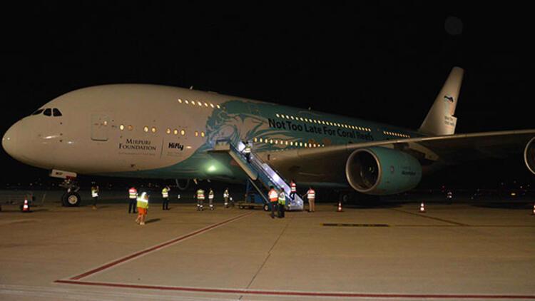 Dev uçak yeniden Dalaman'a geliyor