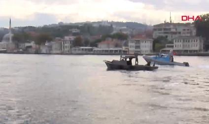 İstanbul Boğazı'nda kaçak midye avcılarına operasyon