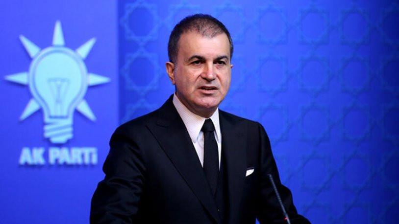 AK Parti Sözcüsü Ömer Çelik: ''Yalan üretim merkezlerini biliyoruz''