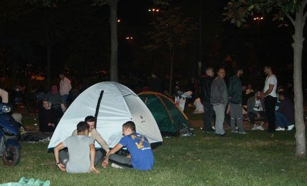 İstanbul depremi sonrası çadır satışları patladı