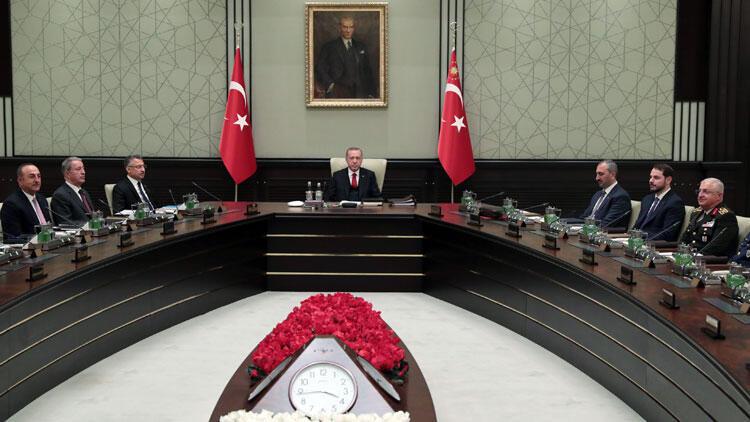 MGK toplantısı sona erdi: İşte flaş Suriye kararları