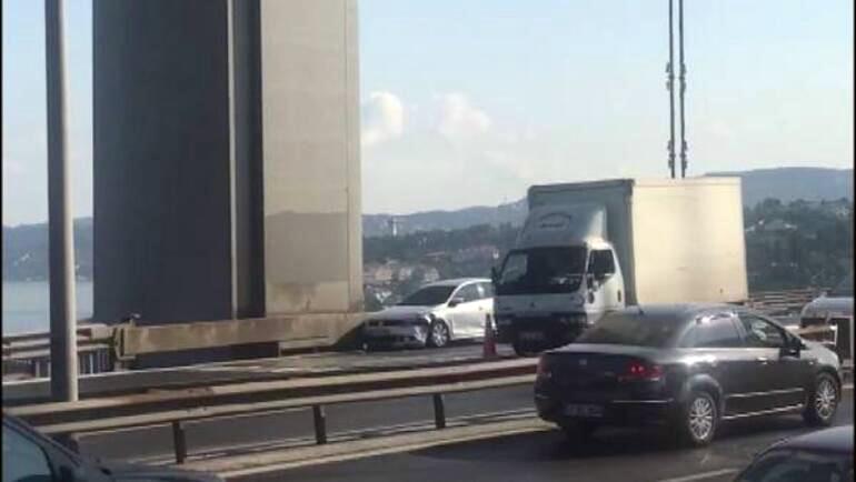 Fatih Sultan Mehmet Köprüsü'nde hareketli dakikalar: Gözaltılar var!