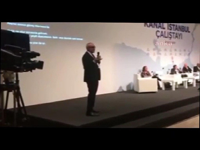 ''Kanal İstanbul erkekleri kimyasal olarak hadım edecek''