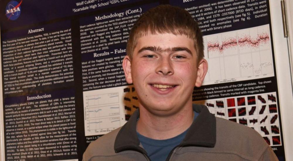 Henüz 17 yaşındaki genç yeni gezegen keşfetti