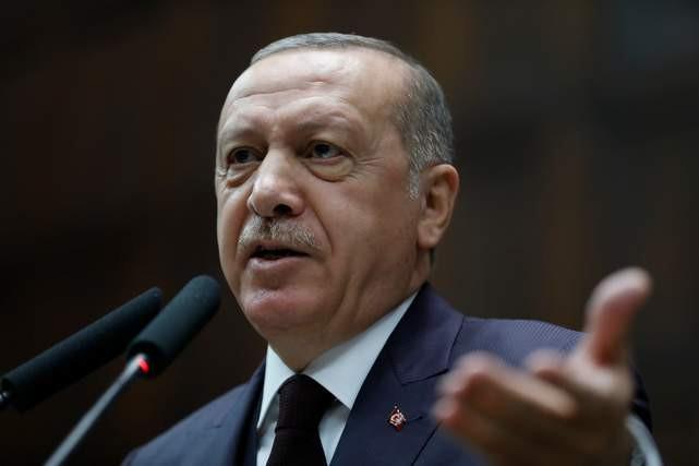 Erdoğan grup toplantısında İmamoğlu'nu eleştirdi