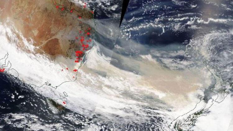 Avustralya yangınlarının dumanı tüm dünyayı saracak!