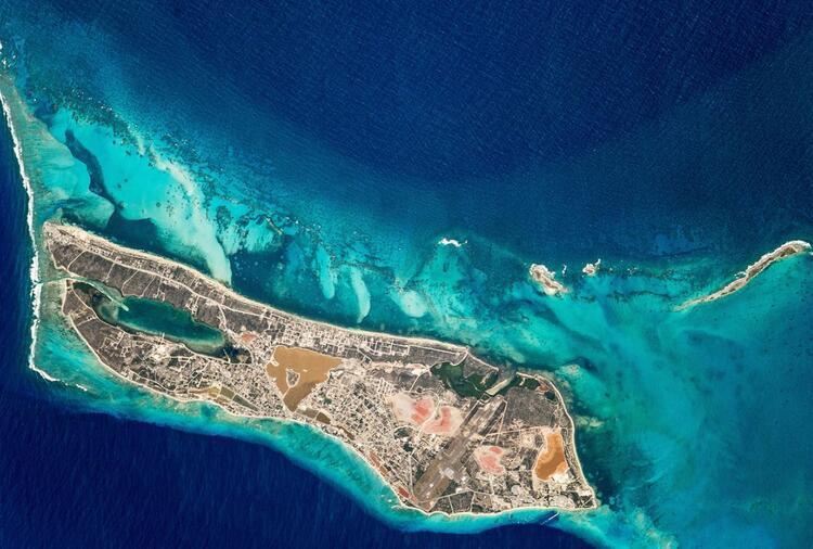 Dünyanın bir ucundaki Türk adası !