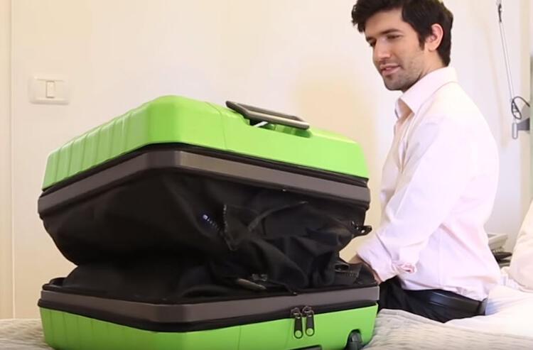 Artık bavullar böyle olacak !