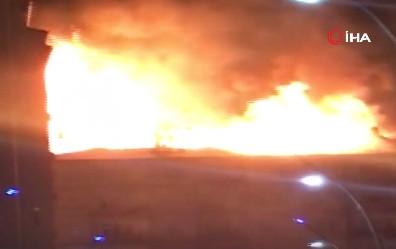 Önce deprem ardından yangın! Elazığ'da kabus gecesi
