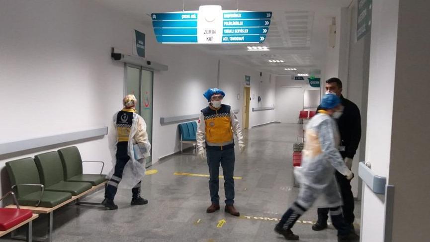 Aksaray'da coronavirüs alarmı ! 12 kişi hastaneye kaldırıldı